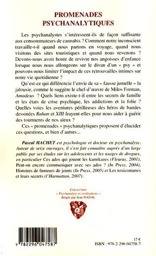4eme Promenades psychanalytiques