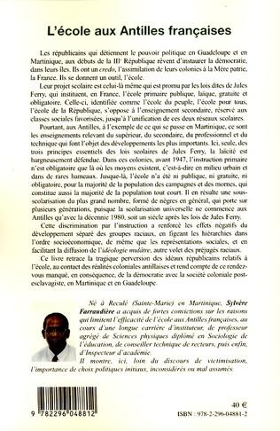 4eme L'école aux Antilles françaises