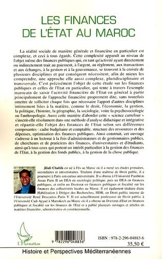 4eme Les finances de l'état au Maroc