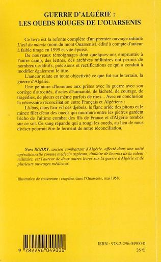 4eme Guerre d'Algérie : les oueds rouges de l'ouarsenis