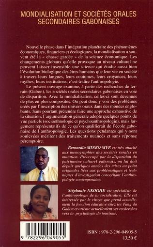 4eme Mondialisation et sociétés orales secondaires gabonaises