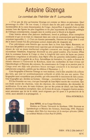 4eme Antoine Gizenga