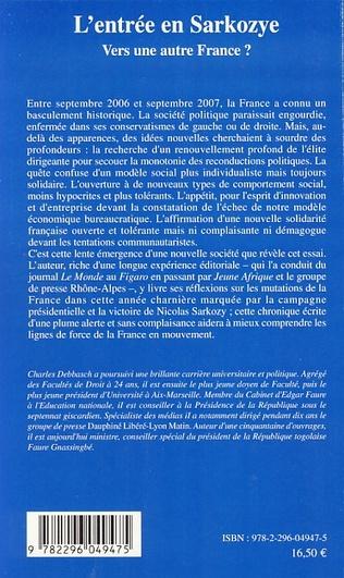 4eme L'entrée en Sarkozye
