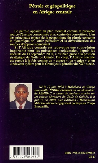 4eme Pétrole et géopolitique en Afrique centrale