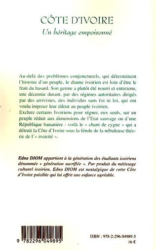 4eme Côte d'Ivoire un héritage empoisonné