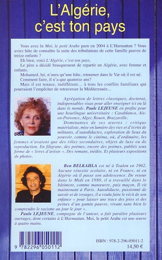 4eme L'Algérie, c'est ton pays