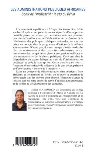 4eme Les administrations publiques africaines