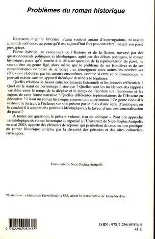 4eme LE ROMAN HISTORIQUE ESPAGNOL CONTEMPORAIN (1975-2000)