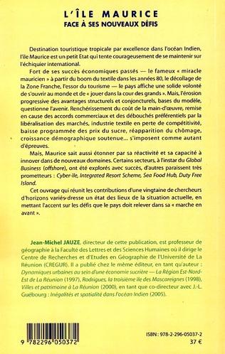 4eme L'île Maurice face à ses nouveaux défis