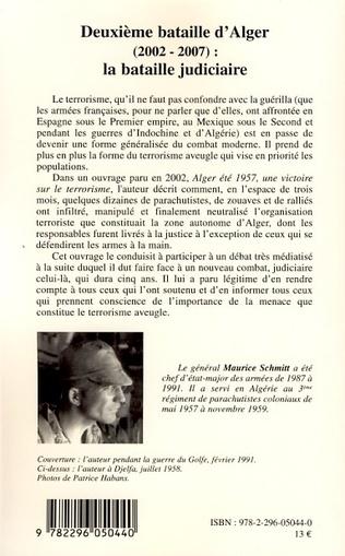 4eme Deuxième bataille d'Alger (2002-2007) :