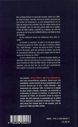 4eme Hôtel Rwanda ou le génocide des tutsis vu par Hollywood