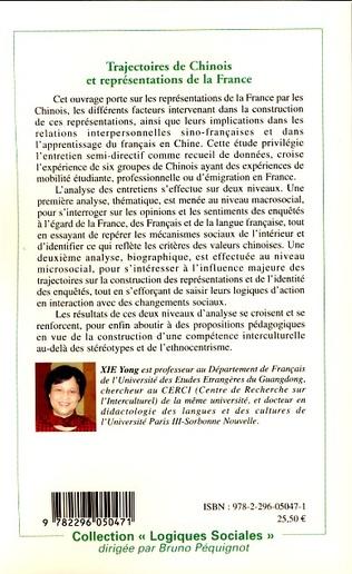 4eme Trajectoires de Chinois et représentations de la France
