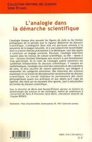 4eme L'analogie dans la démarche scientifique