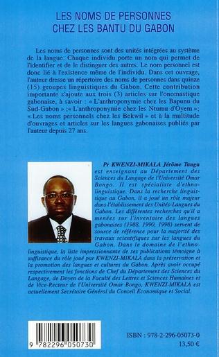 4eme Les noms de personnes chez les Bantu du Gabon