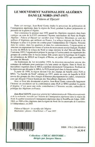 4eme Le mouvement nationaliste algérien dans le Nord (1947-1957)