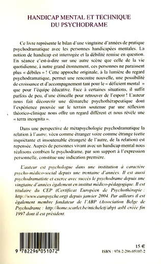 4eme Handicap mental et technique du psychodrame