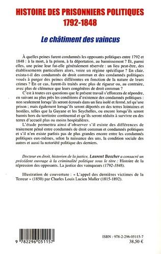 4eme Histoire des prisonniers politiques (1792-1848)