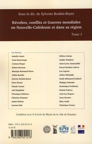 4eme Révoltes, conflits et Guerres mondiales en Nouvelle-Calédonie et dans sa région