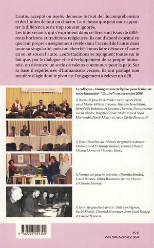 4eme Dialogues interreligieux pour le bien de notre humanité
