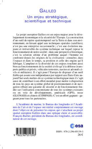 4eme Galileo, un enjeu stratégique, scientifique et technique