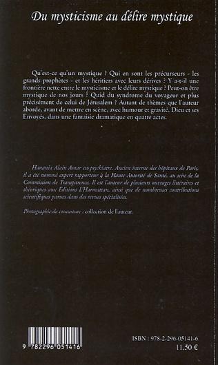 4eme Du mysticisme au délire mystique - Essai