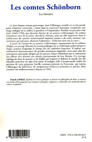 4eme Les comtes Schönborn (1642-1756)
