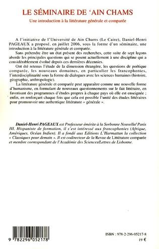 4eme Le séminaire de 'Ain Chams
