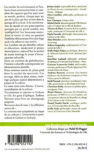 4eme La ville: objet culturel par excellence