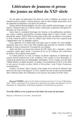 4eme Littérature de jeunesse et presse des jeunes au début du XXIe siècle (nouvelle édition revue et augmentée)