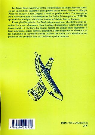 4eme Etudes Finno-ougriennes n° 39