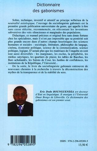 4eme Dictionnaire des gabonismes