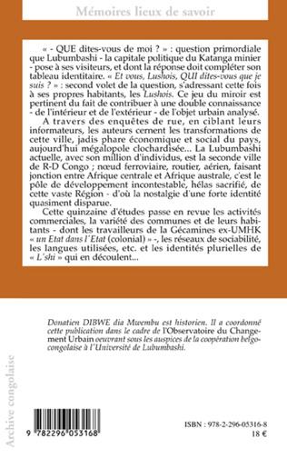 4eme Les identités urbaines en Afrique