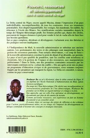 4eme Pouvoirs ressources et développement dans le delta central du Niger