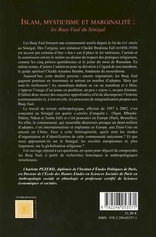 4eme Islam, mysticisme et marginalité: les Baay Faal du Sénégal