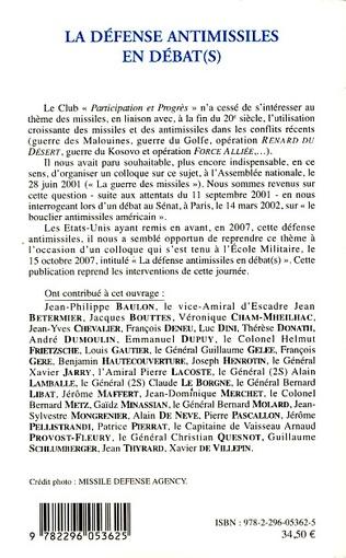 4eme La défense antimissiles en débat(s)