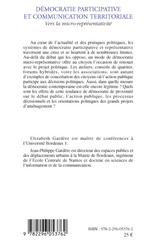 4eme Démocratie participative et communication territoriale