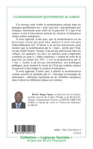 4eme La modernisation quotidienne au Gabon