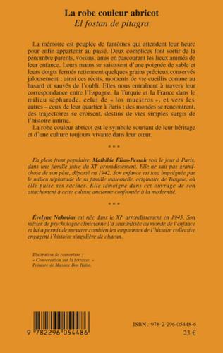 4eme La robe couleur abricot