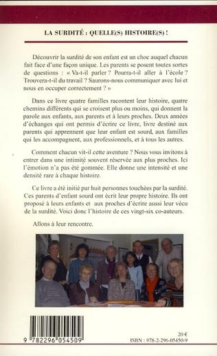 4eme La surdité : Quelle(s) histoire(s)!