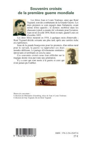 4eme Souvenirs croisés de la Première Guerre mondiale