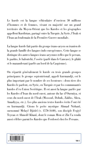 4eme La langue kurde