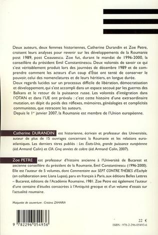 4eme La Roumanie post 1989