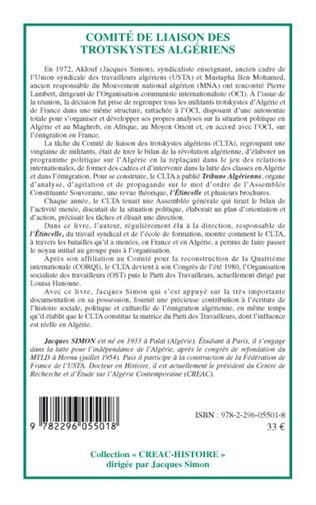 4eme Comité de liaison des trotskystes algériens