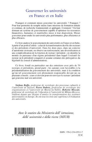 4eme Gouverner les universités en France et en Italie