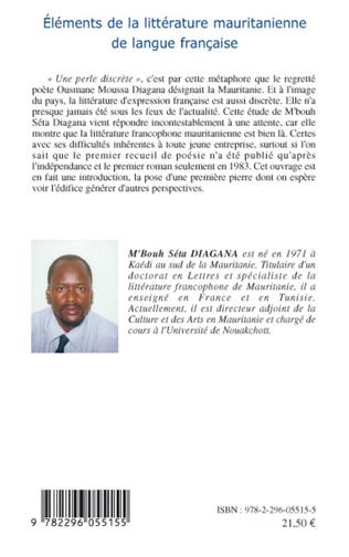 4eme Eléments de la littérature mauritanienne de langue française