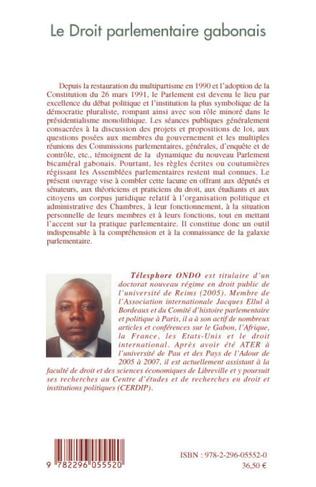 4eme Le droit parlementaire gabonais