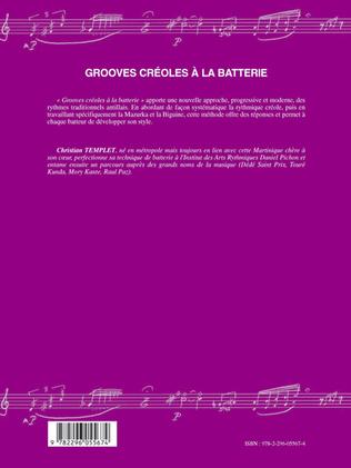 4eme Grooves créoles à la batterie