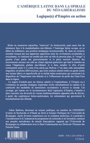 4eme L'Amérique latine dans la spirale du néo-libéralisme
