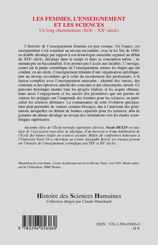4eme Les femmes, l'enseignement et les sciences