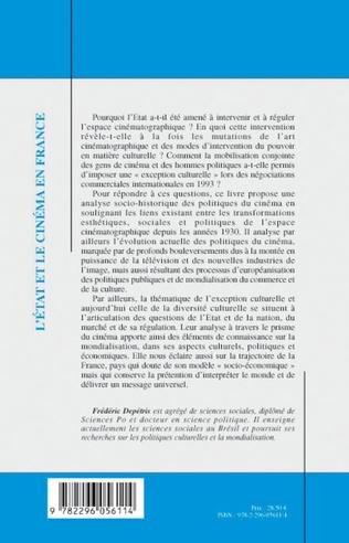 4eme Etat et le cinéma en France